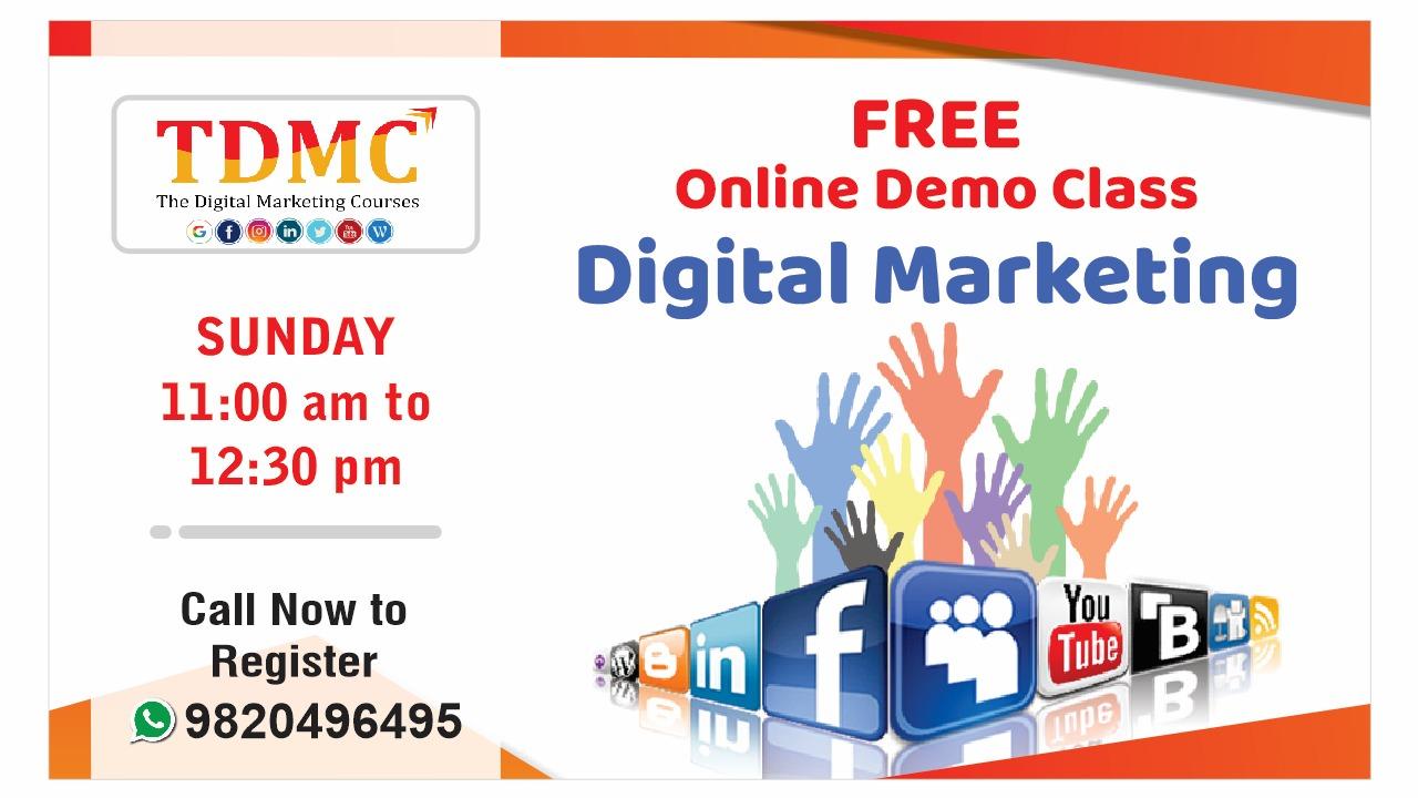 Free Online Demo Digital Marketing